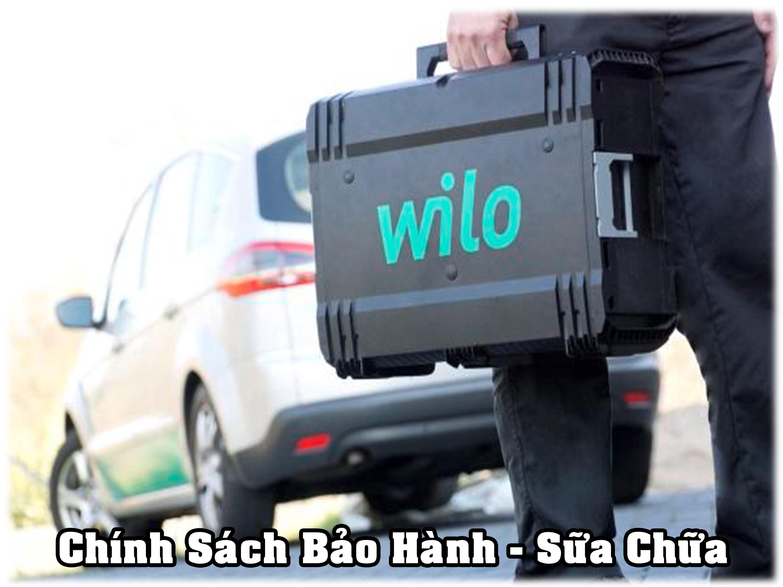 Chính sách bảo hành và sữa chữa máy bơm nước WILO