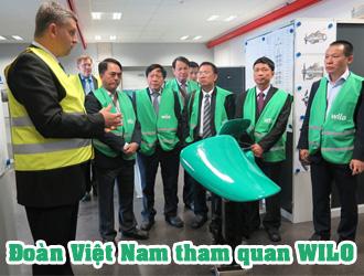 Đoàn Việt Nam tham quan WILO