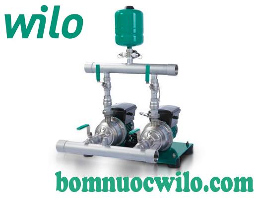 Những lưu ý khi lắp đặt máy bơm tăng áp biến tần Wilo