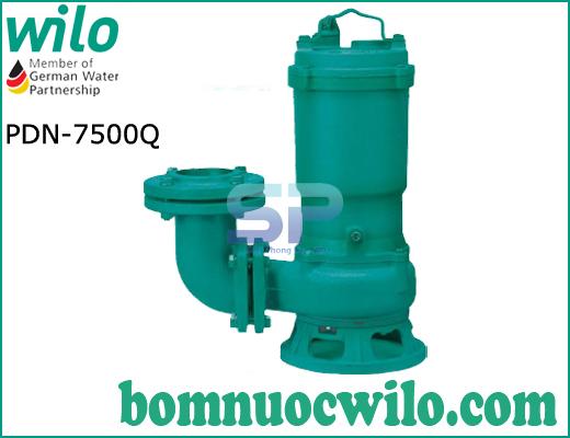 Máy bơm chìm hút nước thải Wilo PDN 7500Q