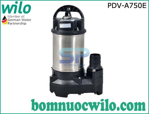 Máy bơm chìm hút nước thải WILO PDV A750E 1HP