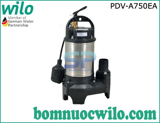 Máy bơm chìm hút nước thải WILO PDV A750EA 1HP