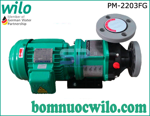 Máy bơm hóa chất dạng từ Wilo PM-2203FG
