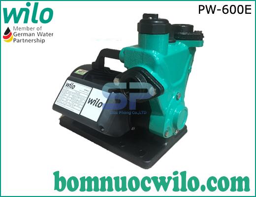 Máy bơm nước hút chân không đẩy cao WiLo PW-600E