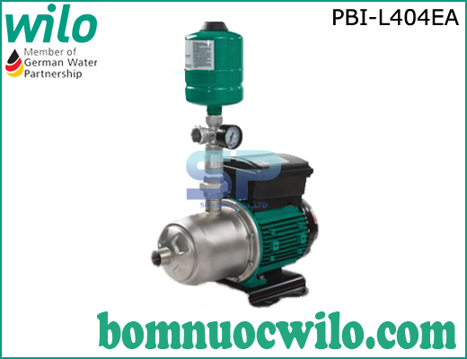 Máy bơm tăng áp biến tần chịu nhiệt Wilo PBI-L404EA