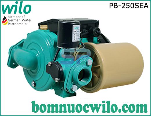 Máy bơm tăng áp điện tử chịu nhiệt Wilo PB-250SEA