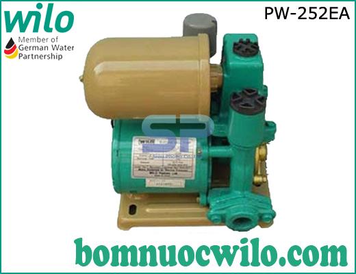 Máy bơm tăng áp tự động Wilo PW-252EA có bình tích áp