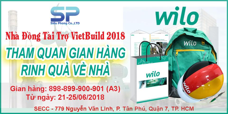 Nhận quà hấp dẫn khi tham quan gian hàng Siêu Phong tại Vietbuild 2018