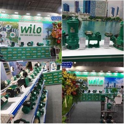 Tổng kết hội chợ triển lãm Wilo tại Vietbuild 2018