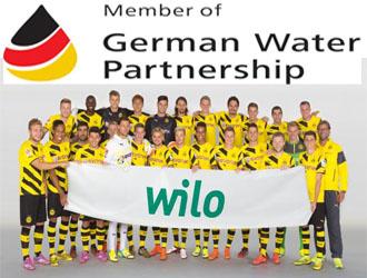 WILO Đức tài trợ bóng đá