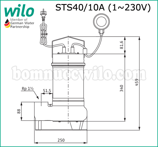 may-bom-chim-nuoc-thai-wilo-sts40-10a-1-230-03