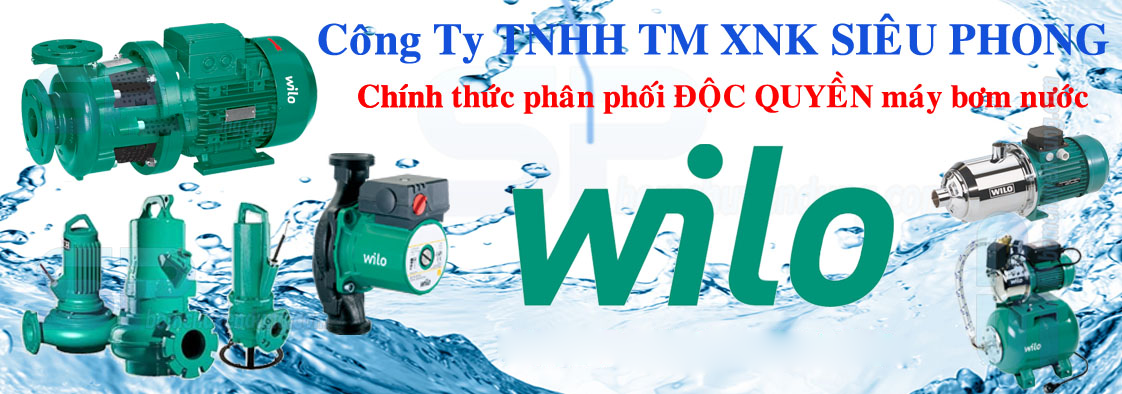Địa chỉ bán máy bơm nước Wilo uy tín tại TPHCM