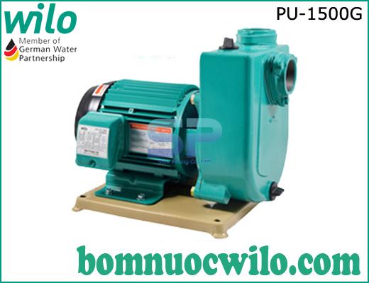 Máy bơm cấp nước lưu lượng lớn tự mồi WiLo PU-1500G