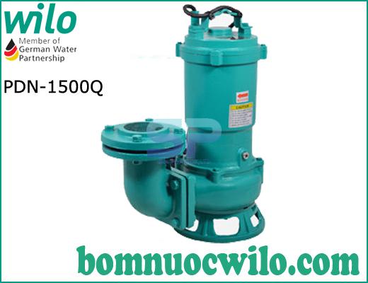 Máy bơm chìm hút nước thải Wilo PDN 1500Q