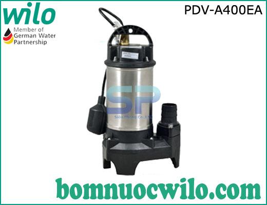 Máy bơm chìm hút nước thải WILO PDV A400EA 400W