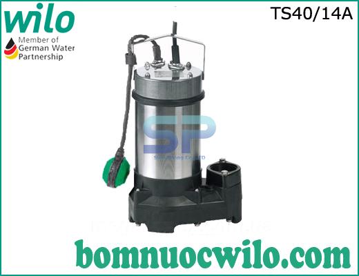 Máy bơm chìm nước sạch Wilo TS 40/14A (mã cũ PD-A751EA)