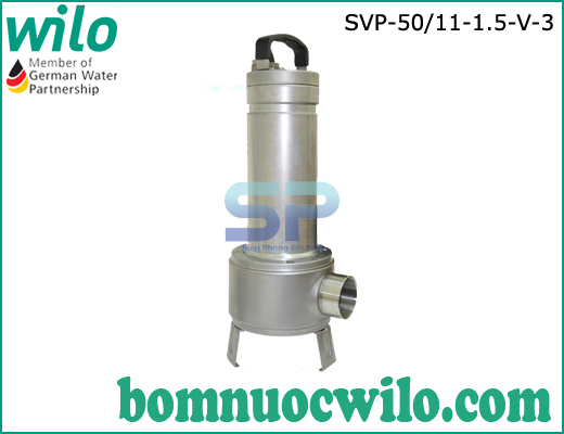 Máy bơm chìm nước thải inox Wilo SVP50/11-1.5-V-3