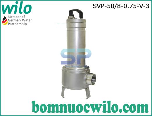 Máy bơm chìm nước thải inox Wilo SVP50/8-0.75-V-3