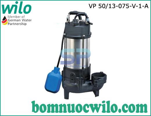 Máy bơm chìm nước thải Wilo VP50/13-075-V-1-A