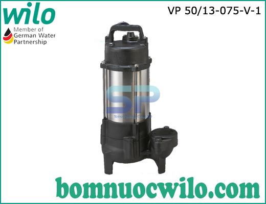 Máy bơm chìm nước thải Wilo VP50/13-075-V-1