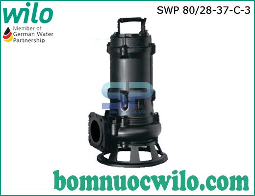 Máy bơm chìm nước thải Wilo SWP80/28-37-C-3