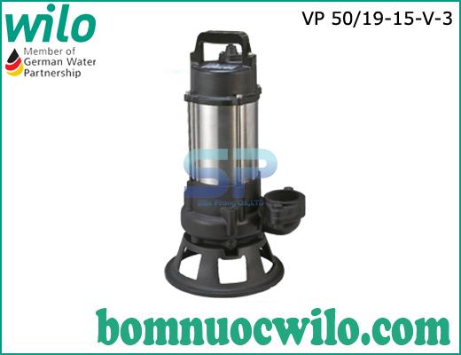 Máy bơm chìm nước thải Wilo VP50/19-15-V-3