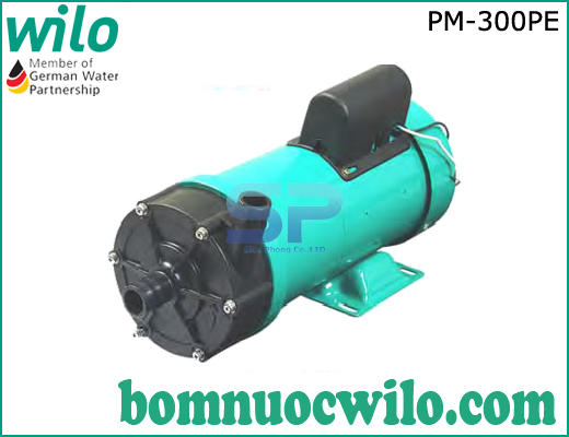 Máy bơm hóa chất dạng từ Wilo PM-300PE