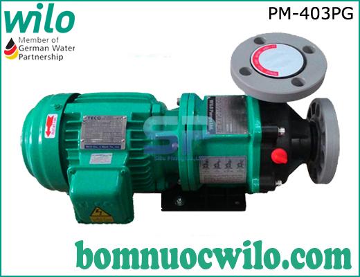 Máy bơm hóa chất dạng từ Wilo PM-403PG