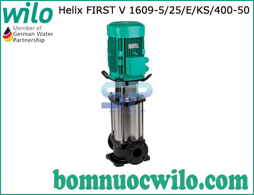Máy bơm ly tâm trục đứng WILO Helix FIRST V 1609-5/25/E/KS/400-50