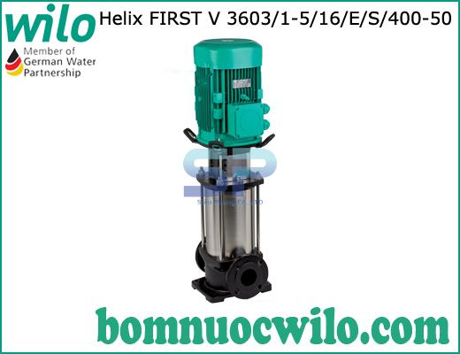 Máy bơm ly tâm trục đứng WILO Helix FIRST V 3606/1-5/16/E/S/400-50