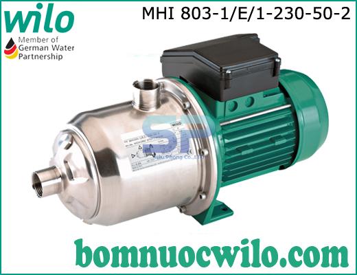 Máy bơm ly tâm trục ngang WILO MHI803-1/E/1-230-50-2