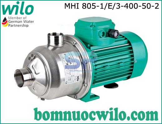 Máy bơm ly tâm trục ngang WILO MHI805-1/E/3-400-50-2