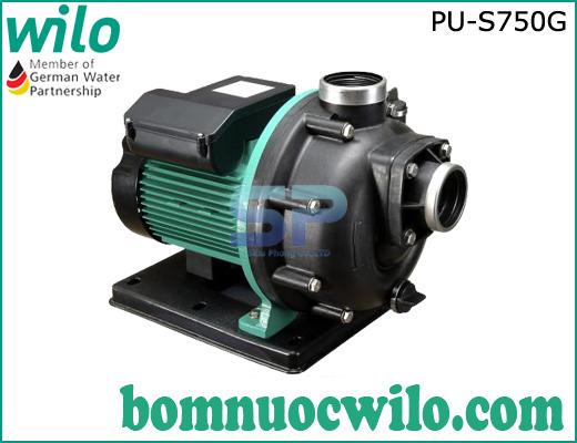 Máy bơm nước biển đầu nhựa WiLo PU-S750G