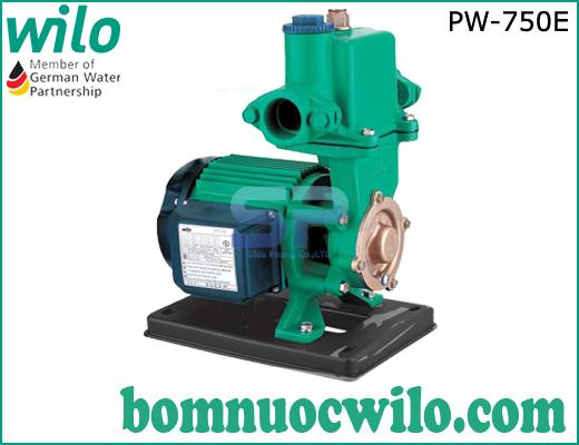 Máy bơm nước hút chân không đẩy cao WiLo PW-750E