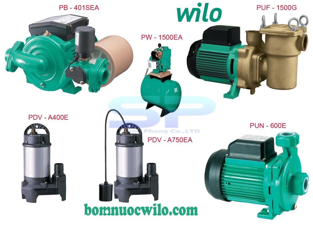Máy bơm nước tăng áp Wilo giá rẻ - lựa chọn cho mọi nhà