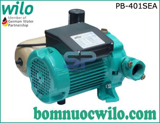 Máy bơm tăng áp điện tử chịu nhiệt Wilo PB-401SEA