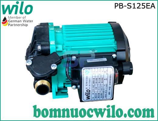 Máy bơm tăng áp điện tử chịu nhiệt Wilo PB-S125EA