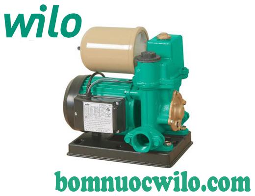 Máy bơm tăng áp tự động có bình tích áp Wilo PW-082EA