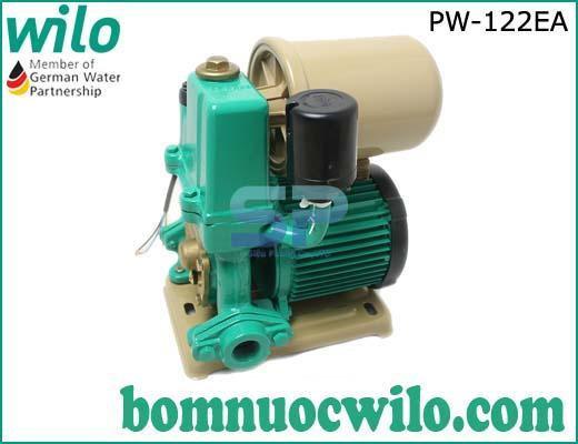 Máy bơm tăng áp tự động có bình tích áp Wilo PW-122EA