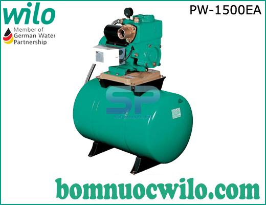 Máy bơm tăng áp tự động Wilo PW-1500EA có bình tích áp