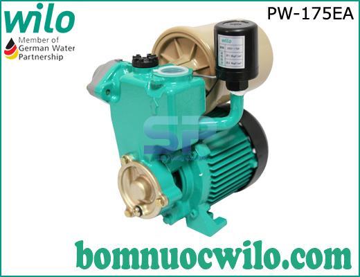 Máy bơm tăng áp tự động Wilo PW-175EA có bình tích áp