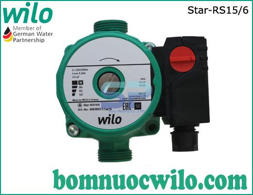 Máy bơm tuần hoàn nước nóng WILO Star-RS15/6