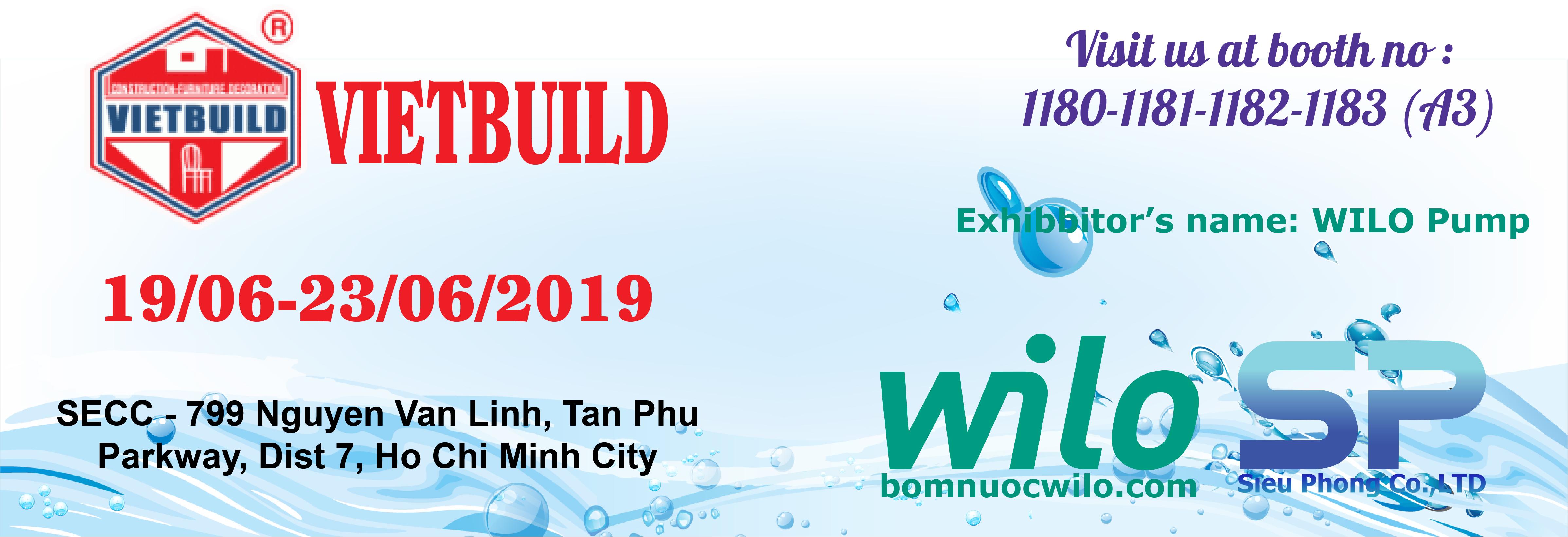 Siêu Phong tiếp tục tham gia hội chợ Vietbuild năm 2019